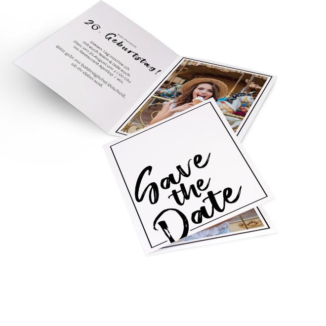 einladungskarten runder geburtstag | rossmann fotowelt